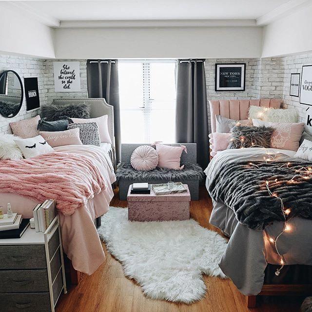 Instagram Image Bedroomdecordiy College Bedroom Decor College Dorm Room Decor Girls Dorm Room
