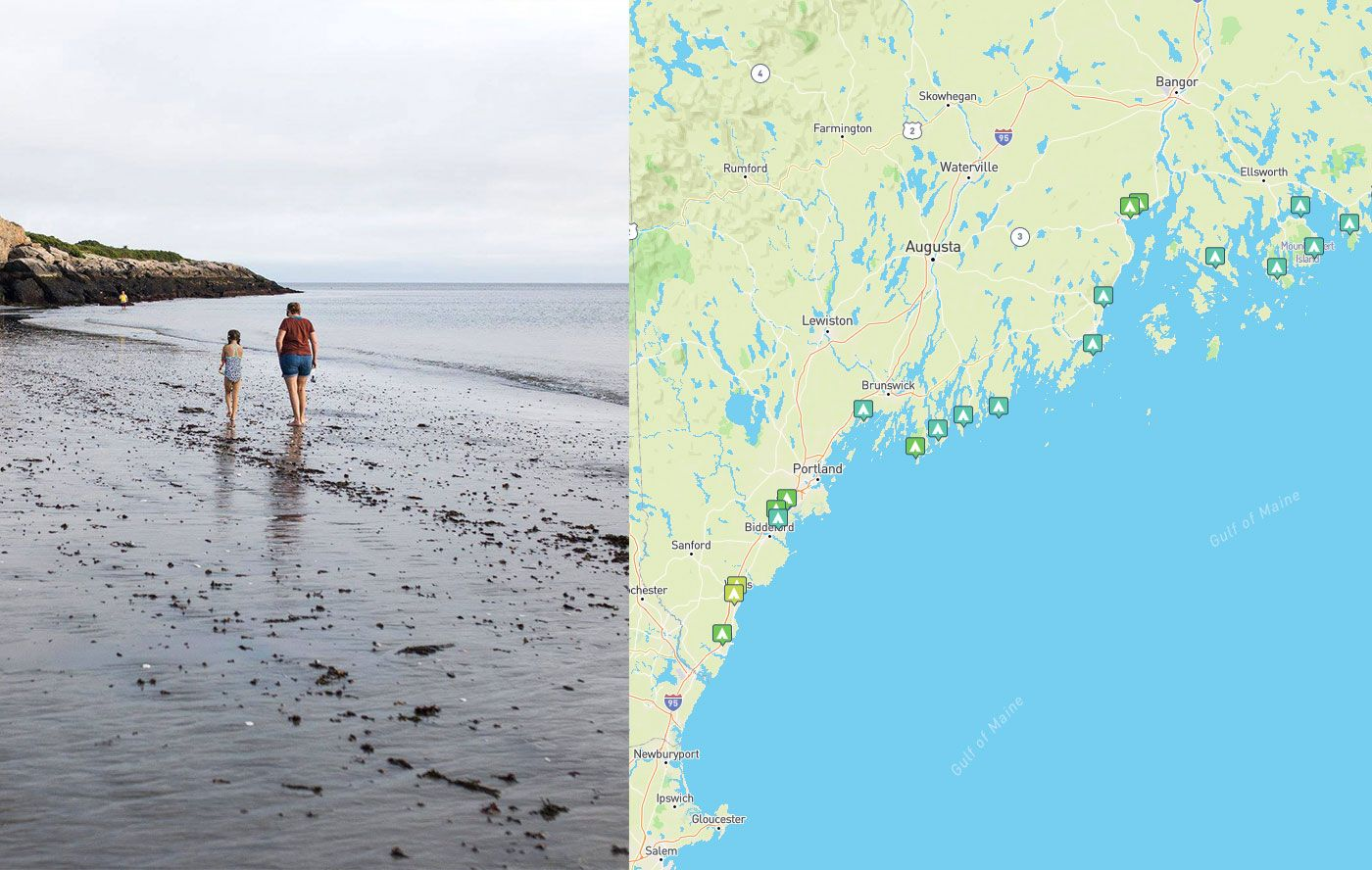 20 Maine Coast Campgrounds For A Seaside Camping Trip Maine Coast Best Places To Vacation Old Orchard Beach Maine