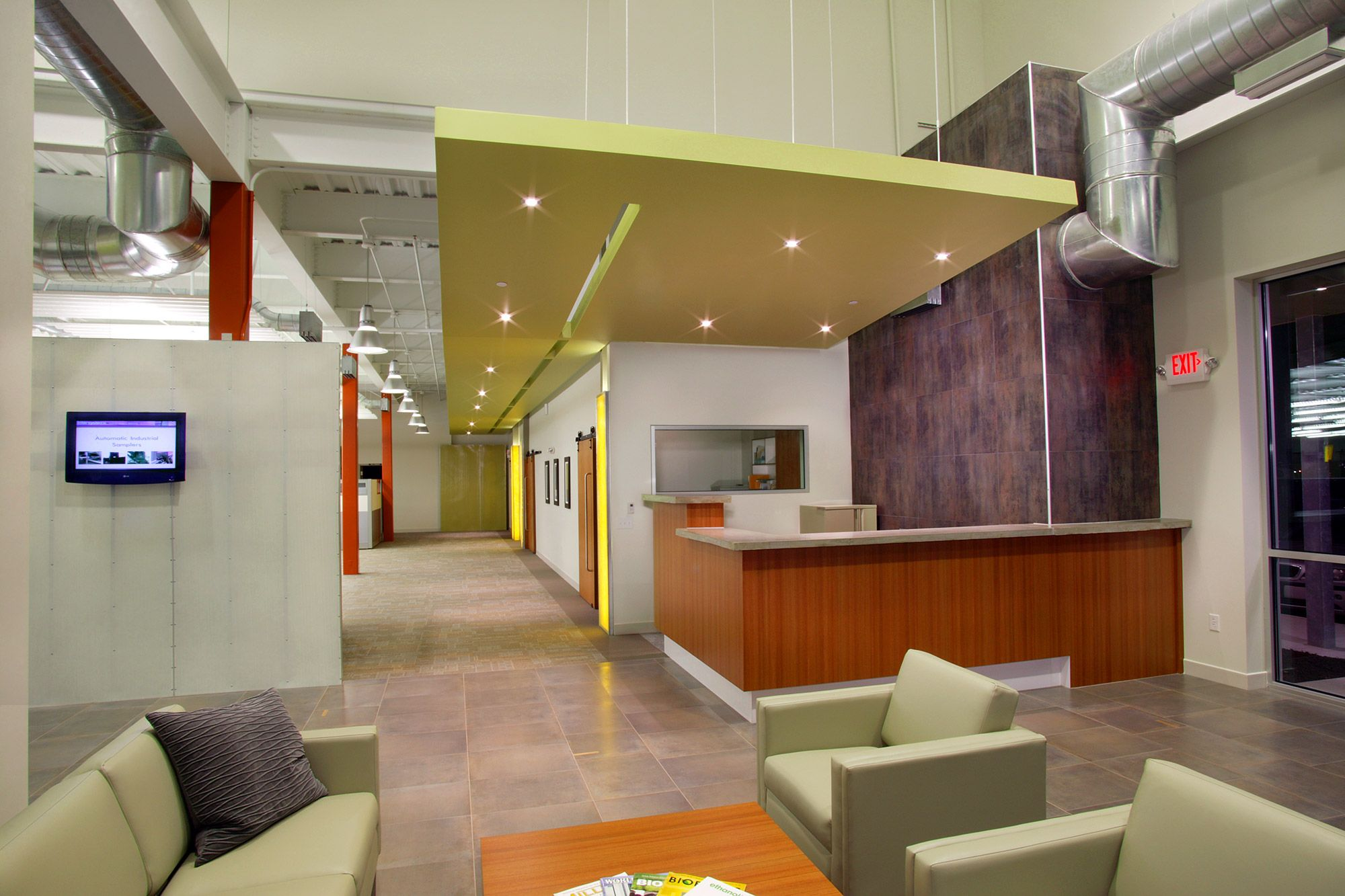 Exposed Metal Deck Soffit Interior Design Google Search