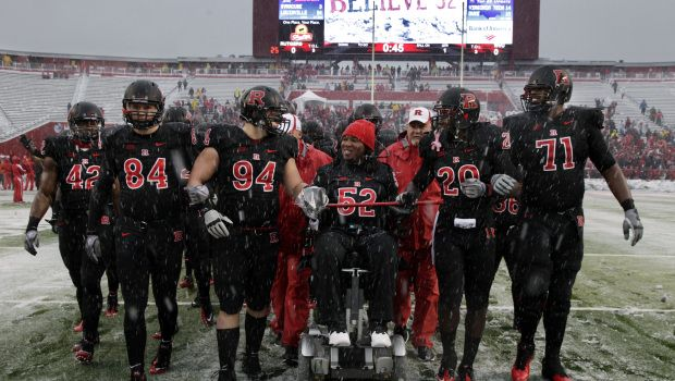 Paralyzed DT Eric LeGrand signed by Buccaneers
