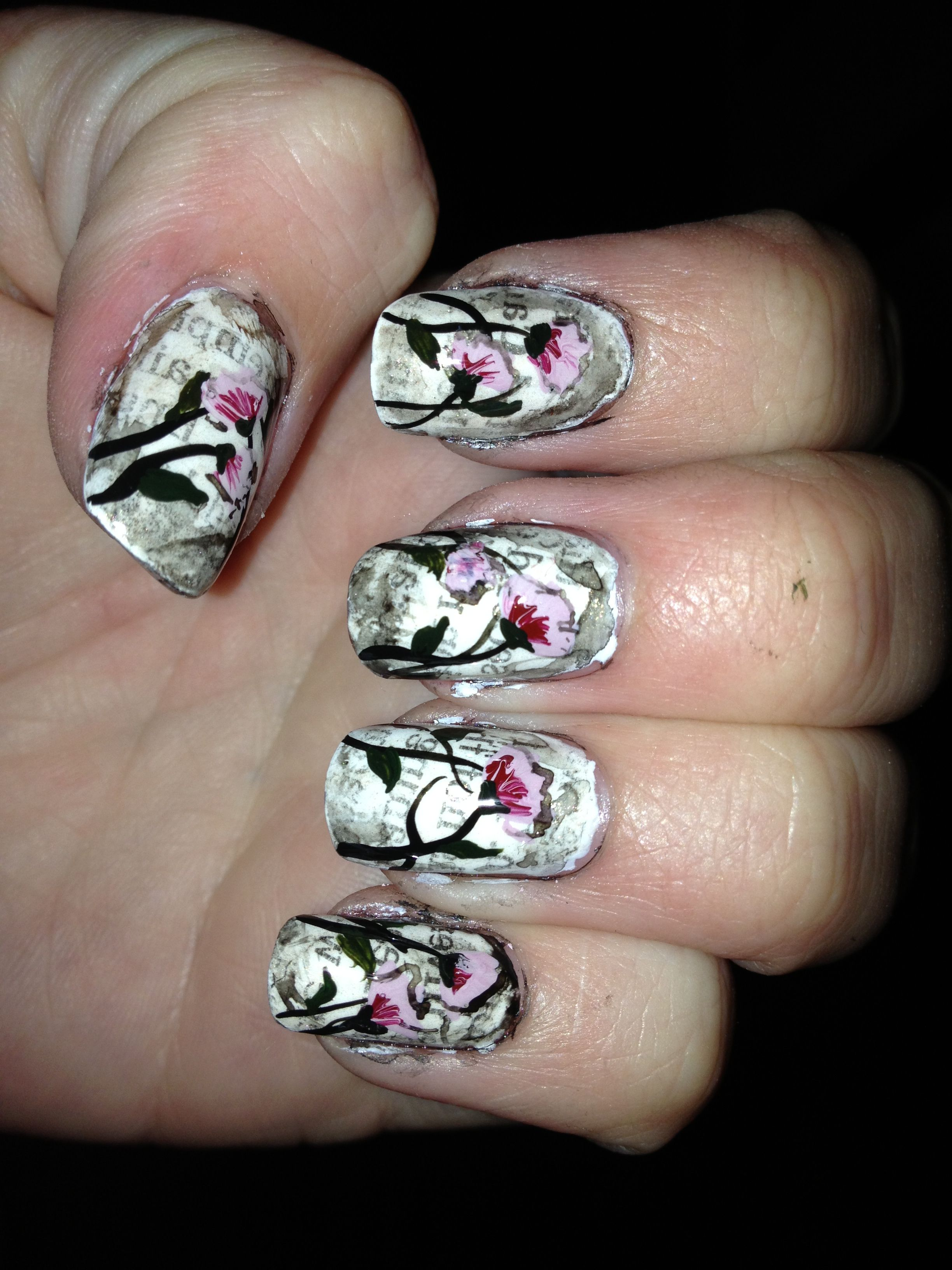 Antique nails (With images) | Nails, Nail art, Antiques