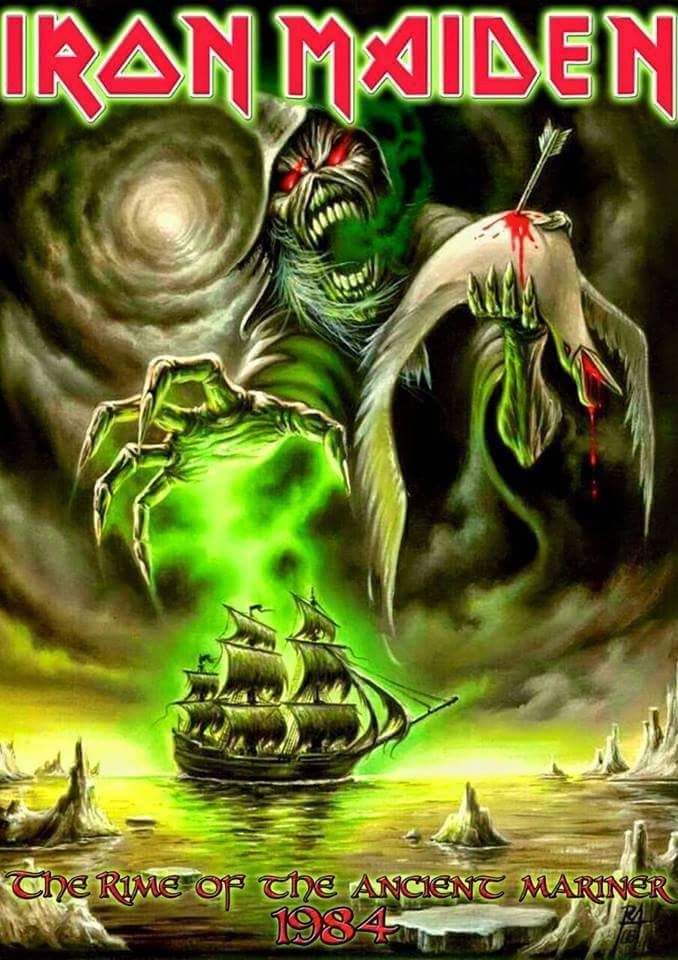 Image result for iron maiden rime of the ancient mariner