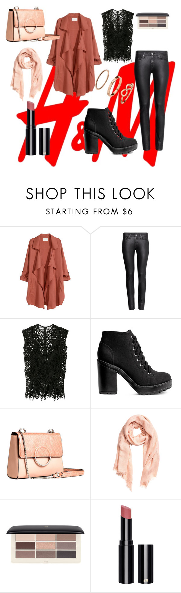 """""""H&M"""" by tammaras ❤ liked on Polyvore featuring H&M and Jonathan Simkhai"""