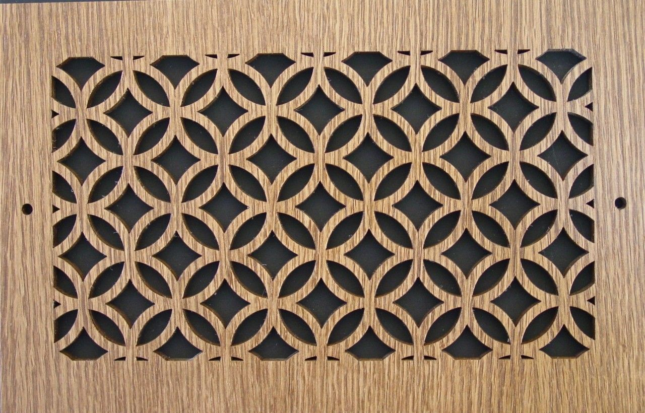 Wood Wall and Ceiling Vent Covers Pattern H (With images