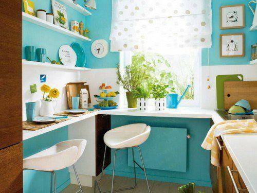 25 schicke Design Ideen für kleine Küche - nützliche Vorschläge - kleine küchen ideen
