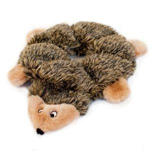 Stuffing Free Plush Hedgehog Squeak Dog Toy Plush Dog Plush Dog