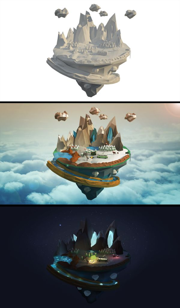 """PROJECT """"INTO THE WILD"""" by Hwang-Il Kim, via Behance"""