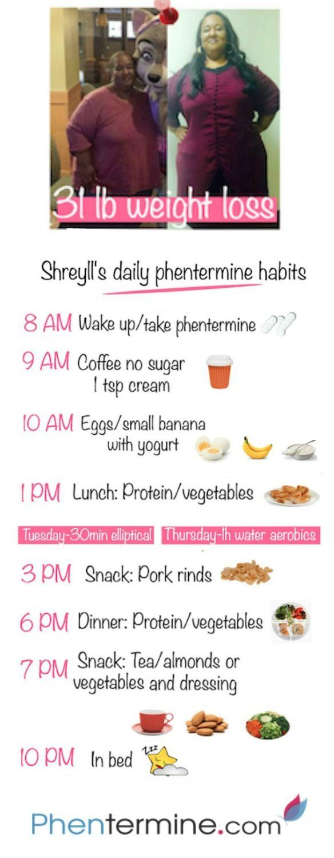 phetermine food diet plan