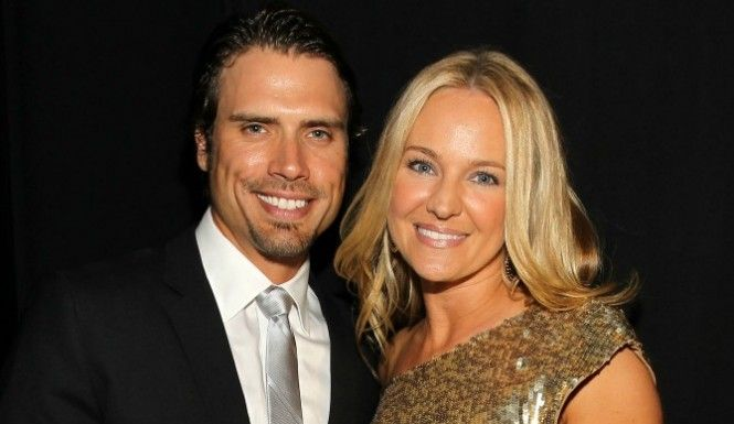 'Young and Restless' stars Joshua Morrow and Sharon Case