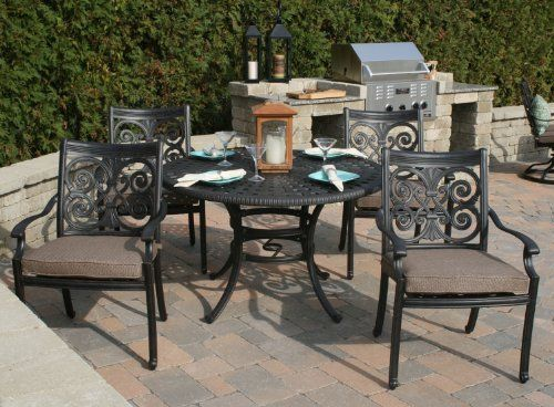 the herve collection 4 person all welded cast aluminum patio