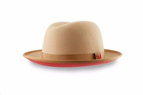a8129d3943c90 Fedora Hat - Top Men s Red Bottom Fedora Hat By Keith and James – Keith And  James