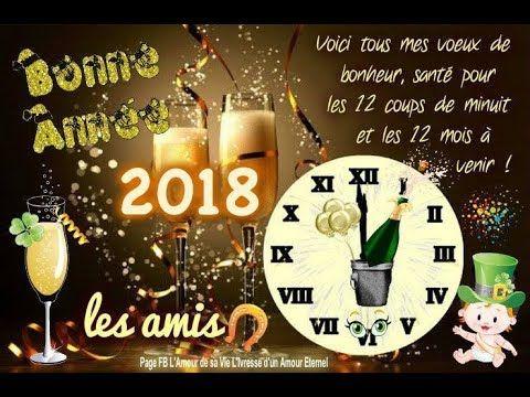 Bonne ann e 2018 happy new year 2018 feliz a o nuevo 2018 - Les 12 coups de minuit bande annonce ...
