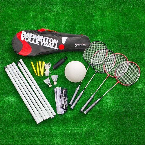 Volleyball Badminton Set for Backyard Garden Party Outdoor Game   eBay - Volleyball Badminton Set For Backyard Garden Party Outdoor Game