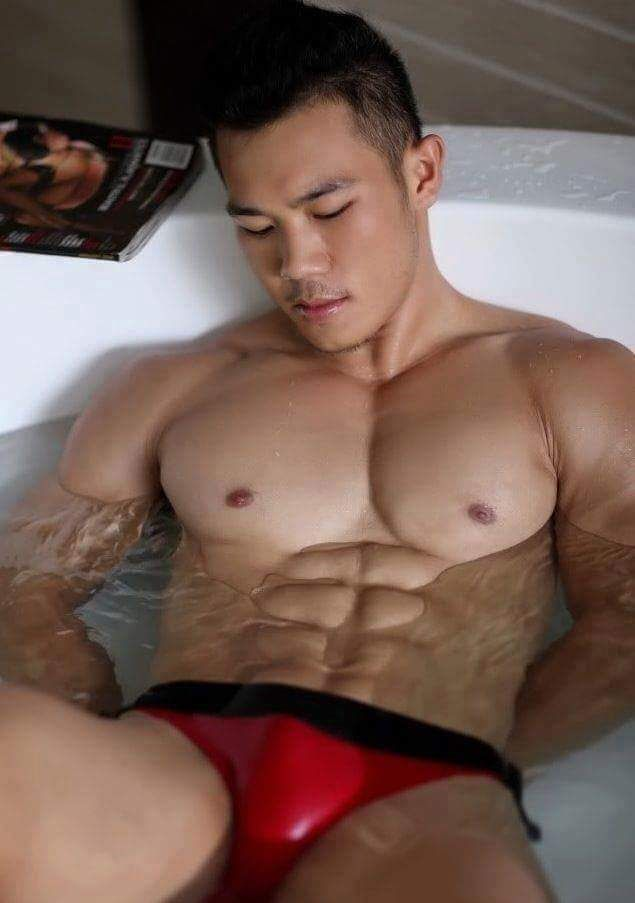 Red Alert Asian Guys Sexy Asian Men Sexy Men Hot Men Muscle