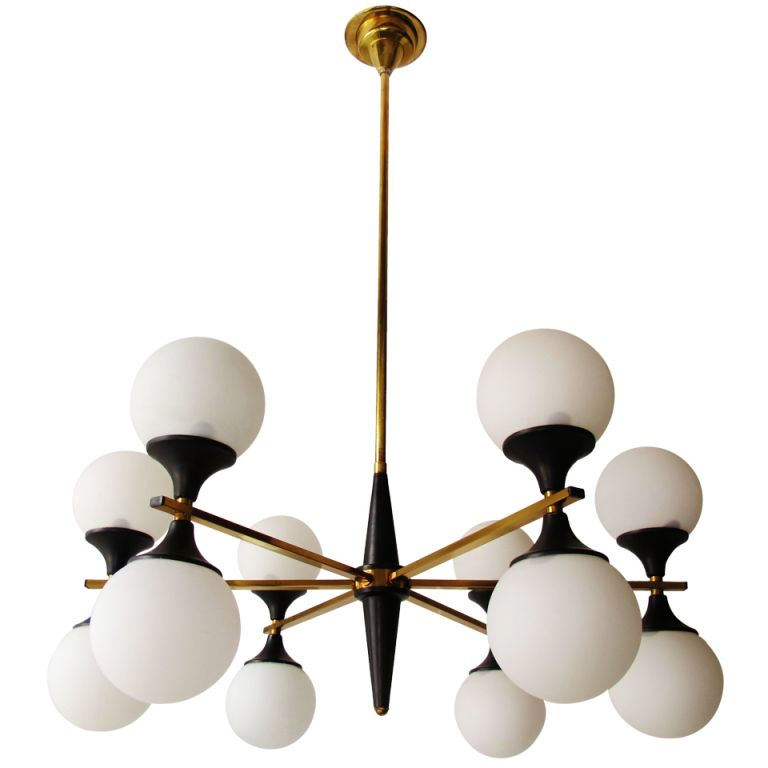 """Arredoluce"" 12-light Chandelier 