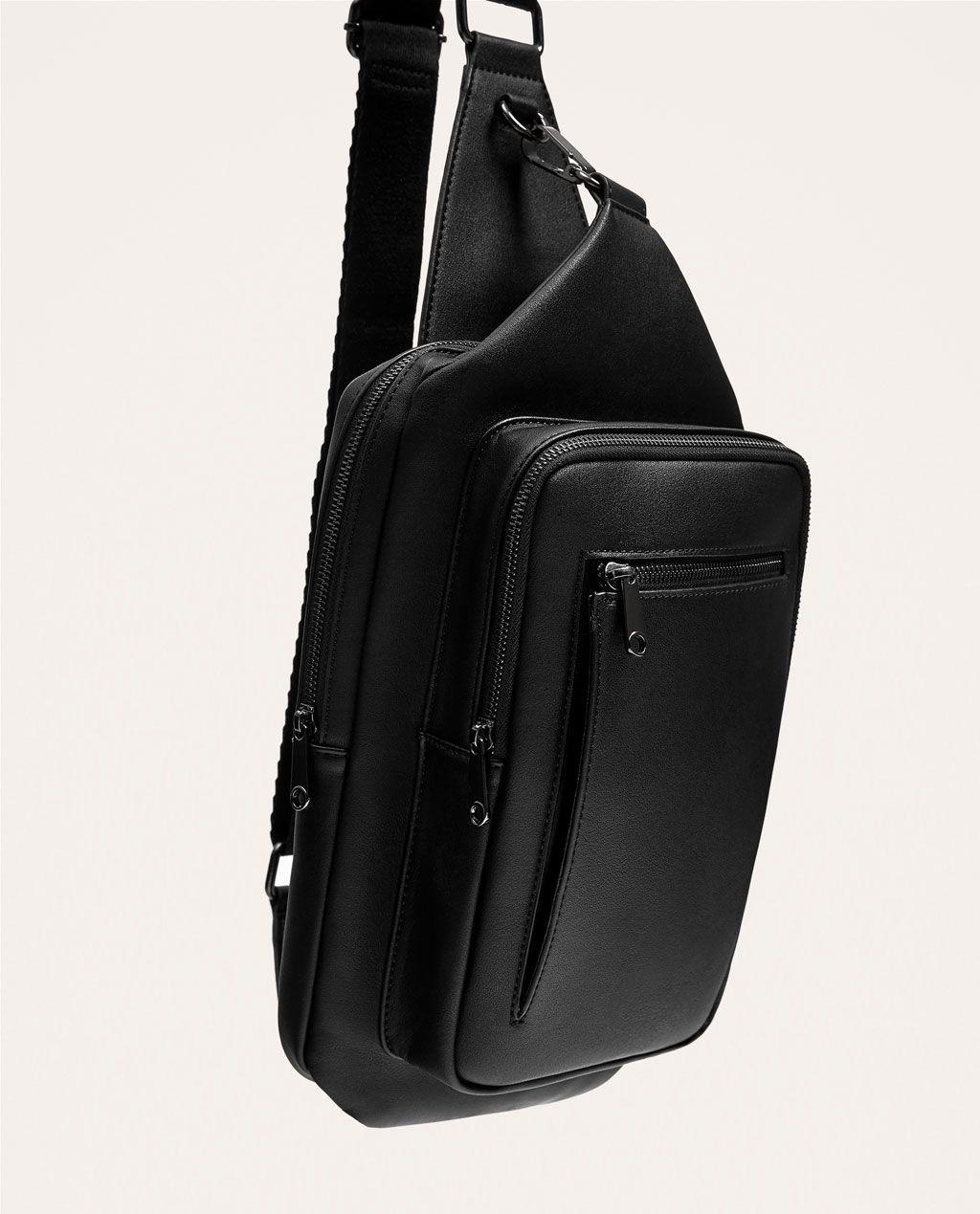 1bac97de0b BLACK CROSSBODY BAG-NEW IN-MAN