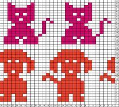 dog knitting chart - Google otsing
