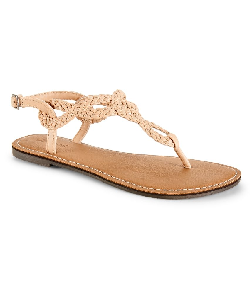 d1f9df94deabeb Braided Sandal - Aeropostale A nice neutral nude color