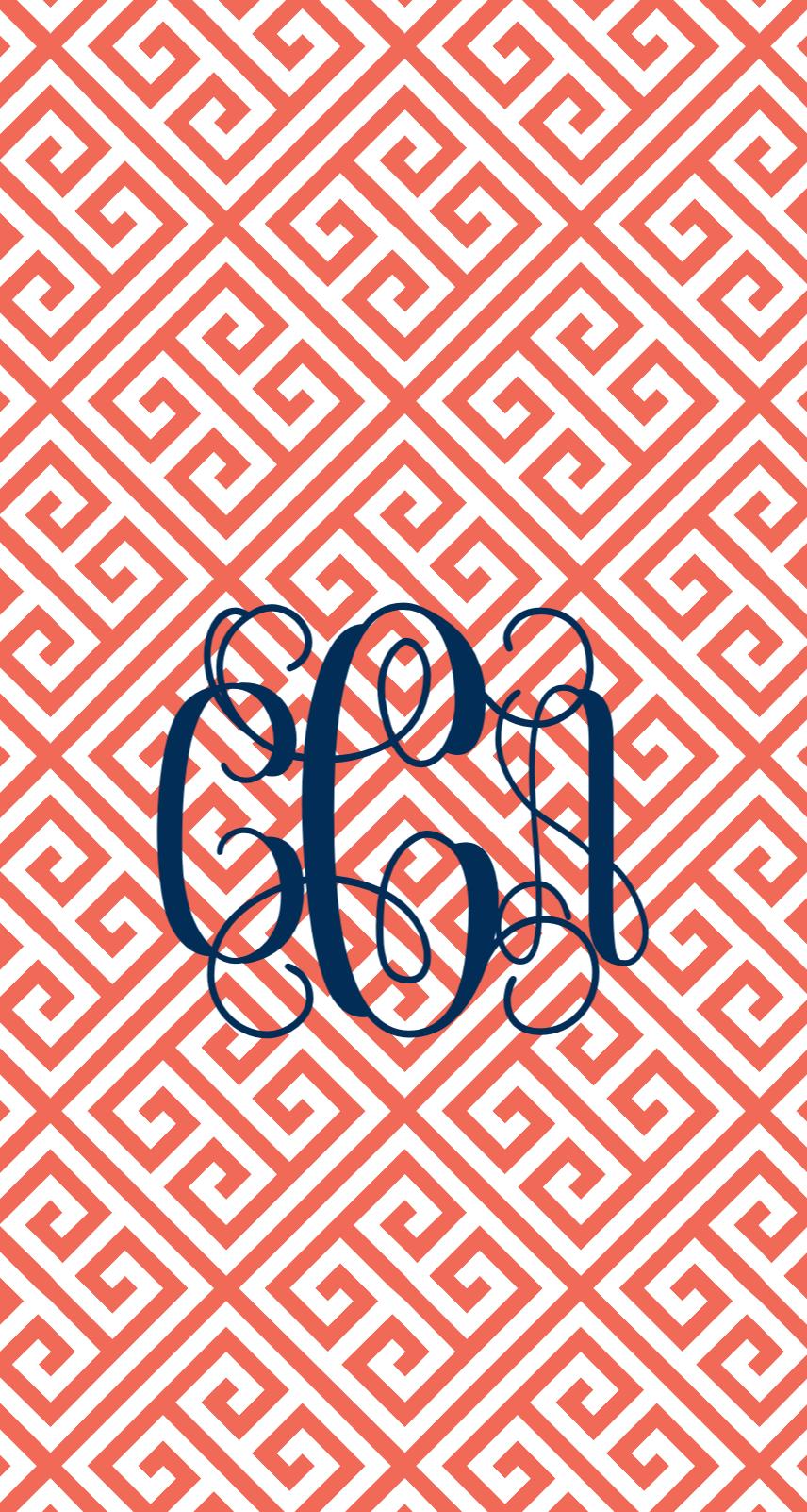 Pin by Crystal Clark on Monogram phone Wallpaper