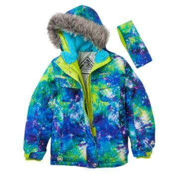 Zeroxposur Ella Snowboard Jacket Girls 7 16 Girls