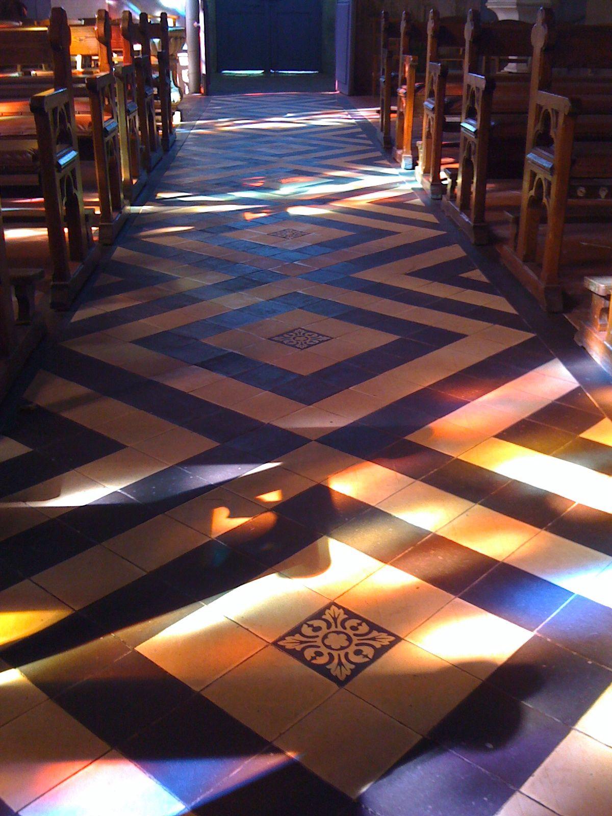 Colors On A Church Floor Normandy Church Flooring Visual