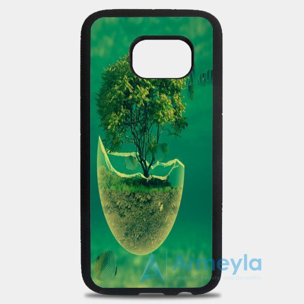 Tree In The Sea Abstract Samsung Galaxy S8 Plus Case | armeyla.com