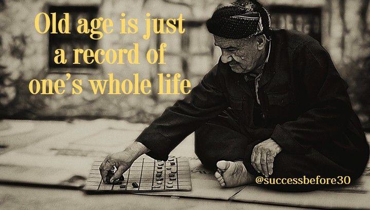 Umur Yang Semakin Tua Adalah Rekaman Dari Perjalanan Anda Seumur