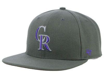 hot sale online 6d908 1df09 Colorado Rockies  47 MLB Autumn Snapback Cap   lids.com