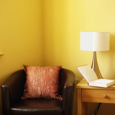 How To Glaze Walls To Tone Down Colors Yellow Walls Living Room Yellow Painted Walls Yellow Walls