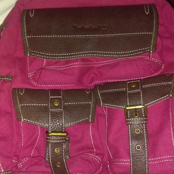 Pink Timberland Backpack I'm selling a pink timberland back pack I paid $220 for it so looking to sell for $120 obo I still have the tags, just not on it for proof of paying that much. Need to Get rod of ASAP Timberland Bags Backpacks