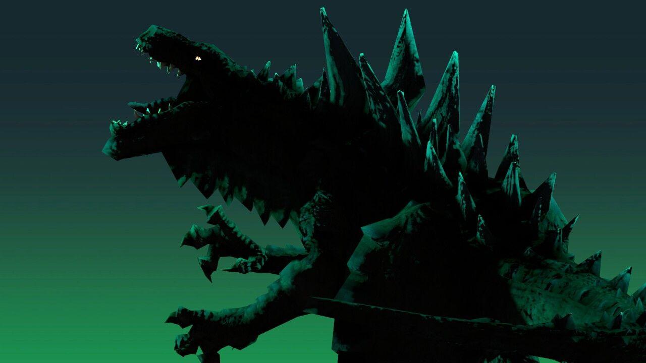 Zilla 1998 Godzilla Kaiju Art Kaiju