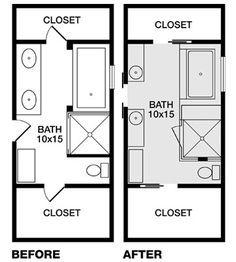 two zen bathroom tours | bathroom floor plans, bathroom