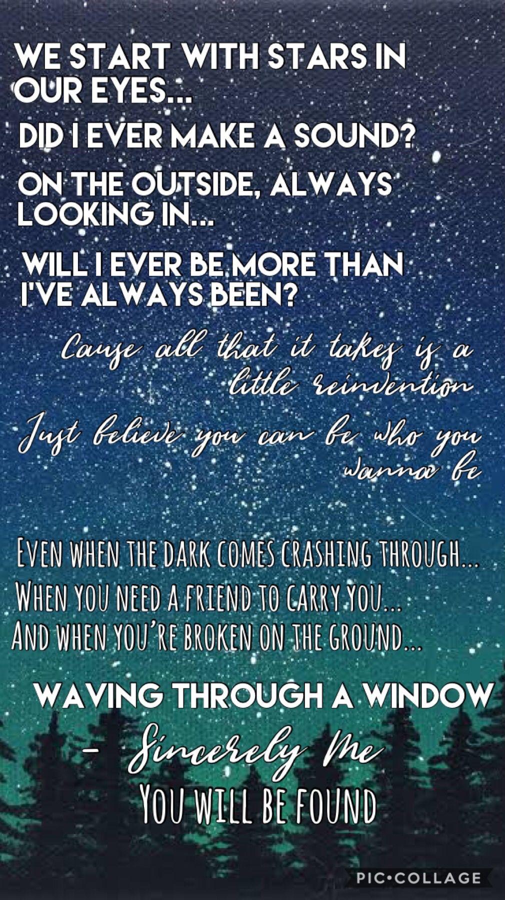 Dear Evan Hansen Lyric Wallpaper Dear Evan Hansen Lyrics Dear Evan Hansen Broadway Dear Evan Hansen Quotes