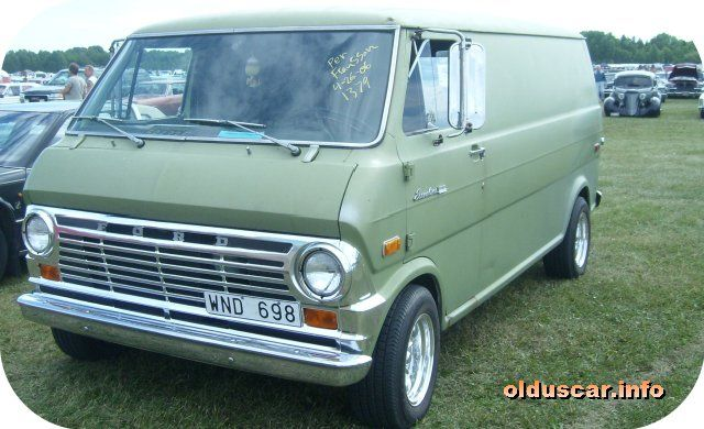 I Also Had A Green Ford Econoline Of The 1970 S With Images