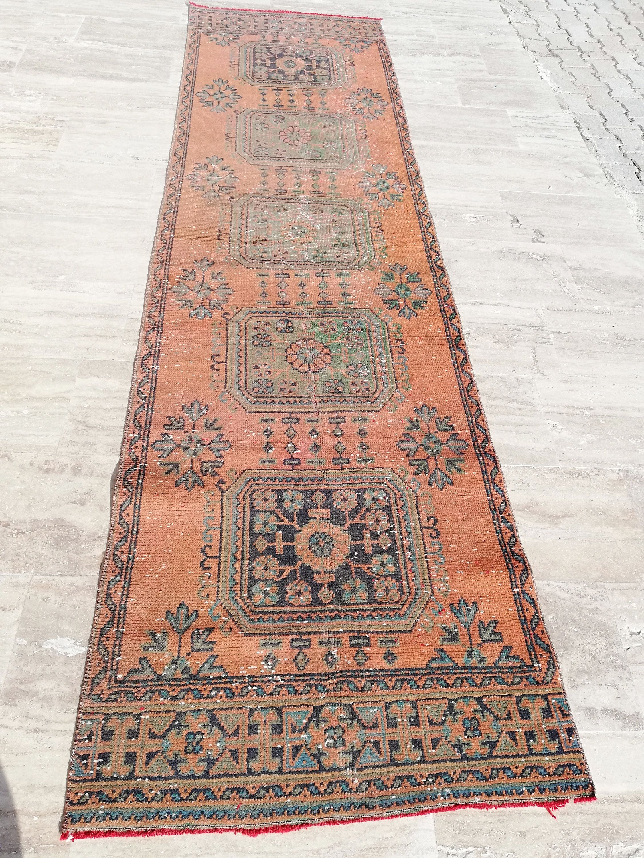 Copper Rug11 0 X2 11 Ftstairs Etsy In 2020 Rug Runner Rugs Tribal Rug