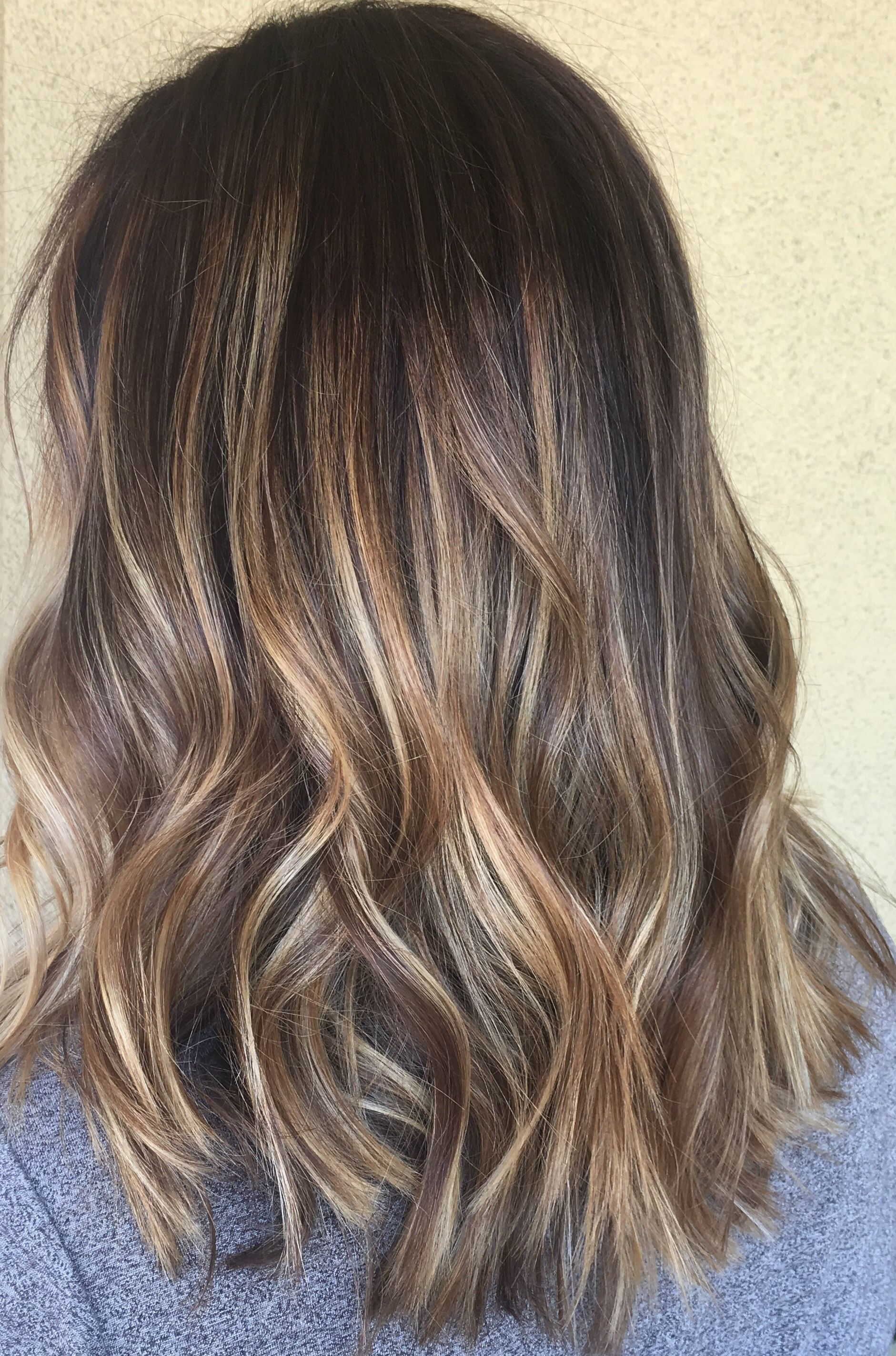 sun kissed balayage by genna khein hair colors pinterest balayage. Black Bedroom Furniture Sets. Home Design Ideas