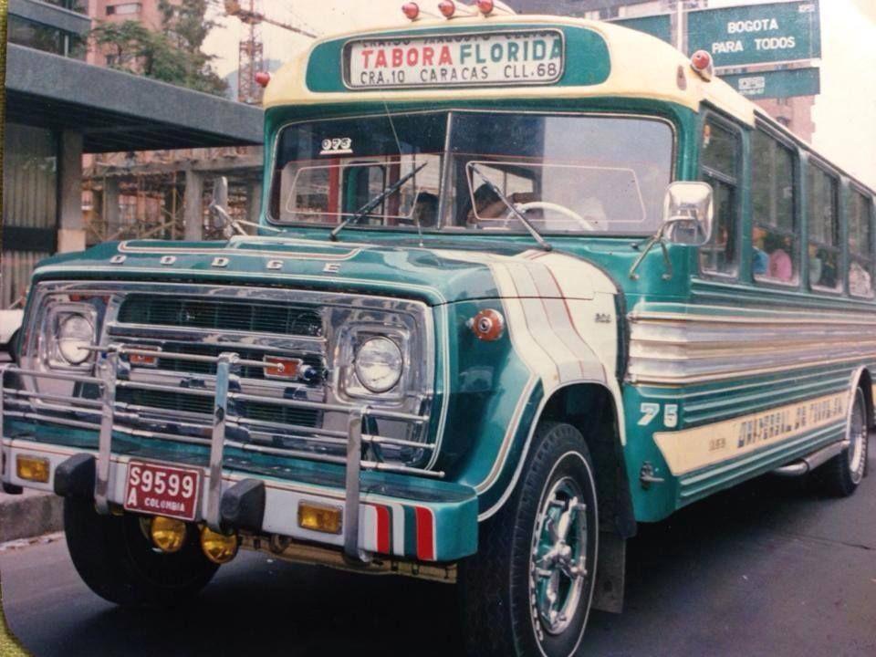 Pin De Sohail Salem En 80s Anos Luz Colombia Bogota Antigua Coches Geniales Transporte Urbano