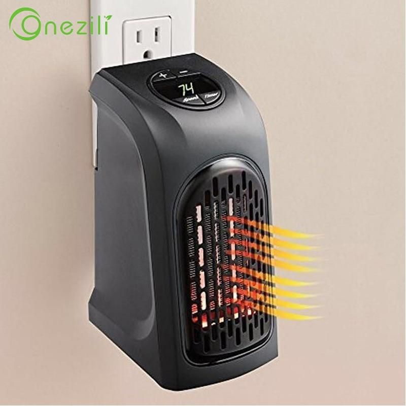 Portable Mini Wall Outlet Heater Fitnesstrackers Smartphones