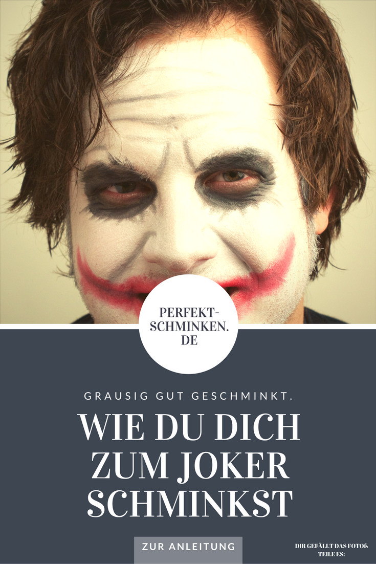 Schminke Dich Zum Joker Kostume Fur Die Frau Halloween