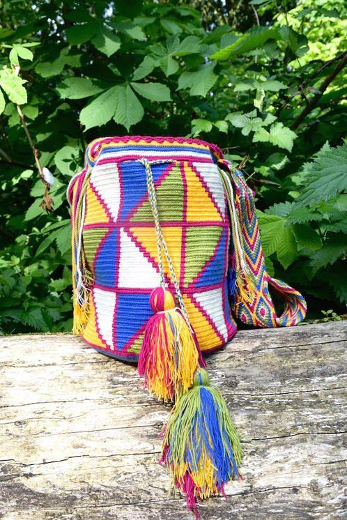 Geometric Tayrona Wayuu Tote