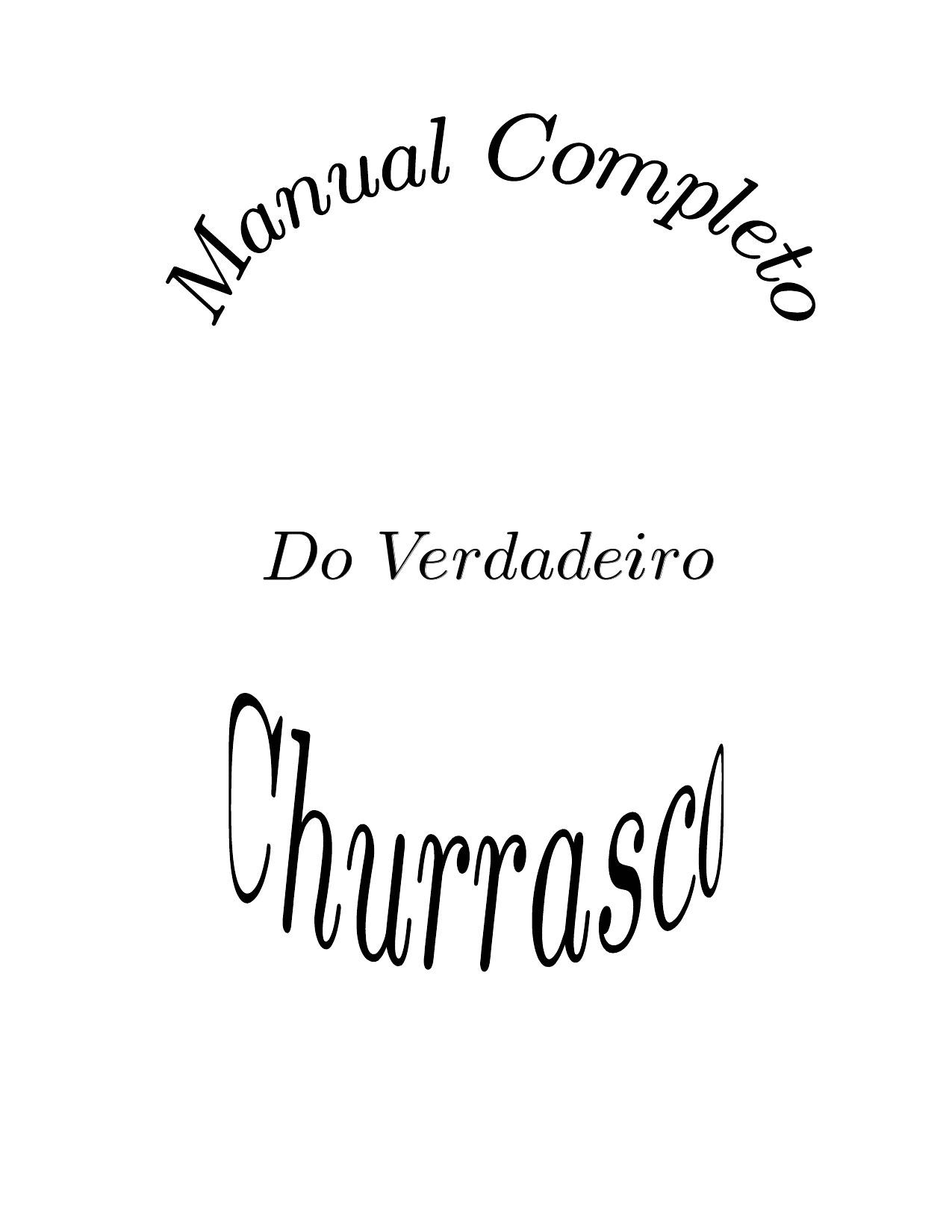 Manual de Churrasco | Books, Names, Digital publishing