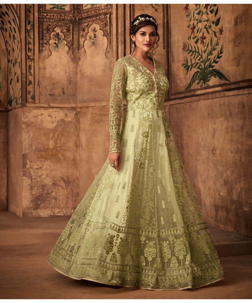 173949dafc Designer Gown - Green   India US UK Toronto Durban Sydney   Eid ...