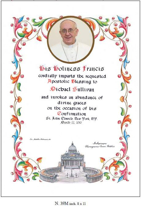 How to get a papal blessing
