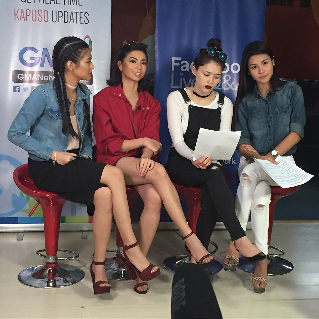 regram @gmaencantadia The Sang'gres answer why they were picked among other artists who auditioned. #EncantadiaGrandPressCon