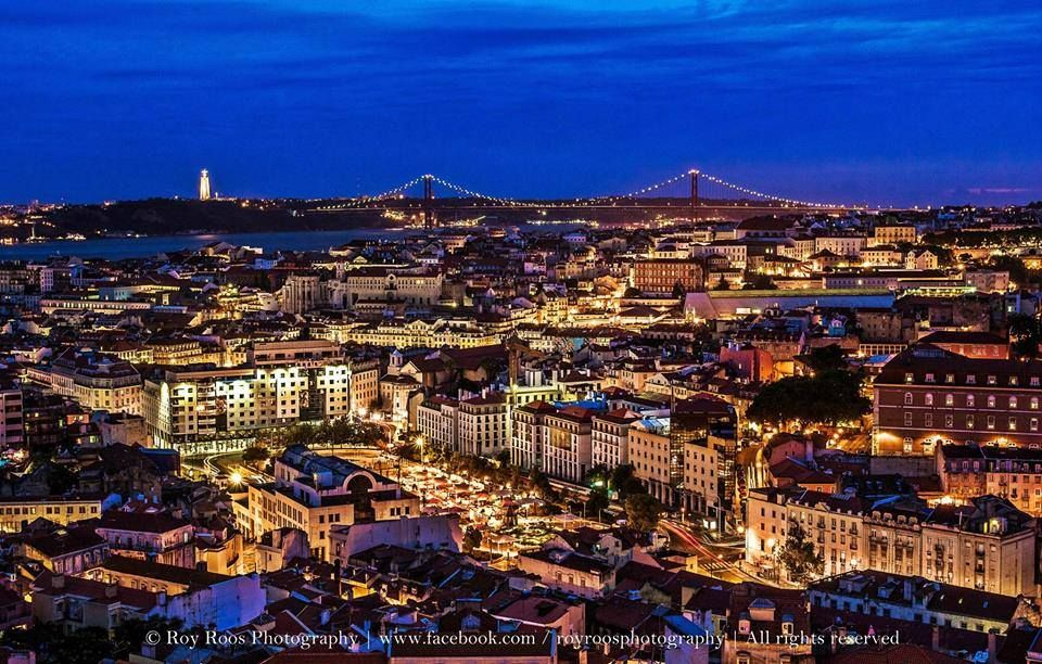 Maravilhosamente Lisboa Lisboa Vista Do Miradouro Da Senhora Do Monte No Tipico Bairro Da Graça Trip Lisbon Around The Worlds