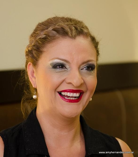 Peinado y Make up de una Madrina
