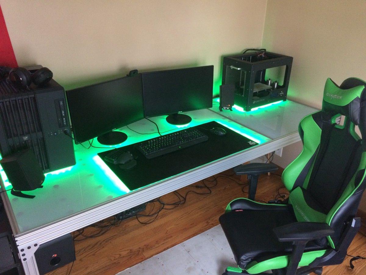 Gaming Desks Schreibtischideen Computertisch Modernes Design