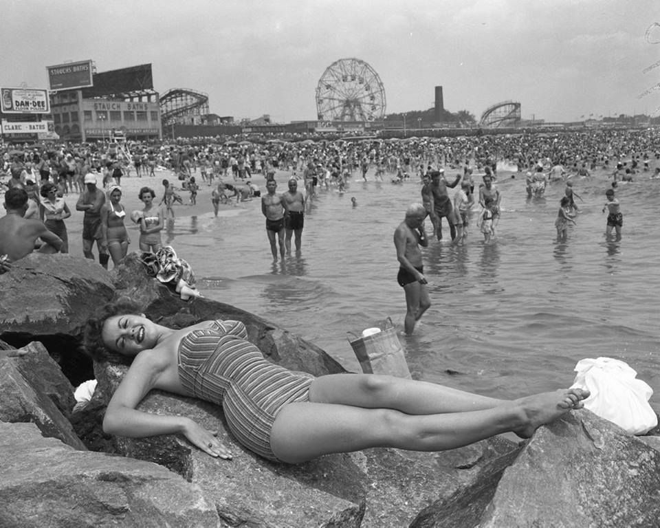 Image result for coney island 1950's