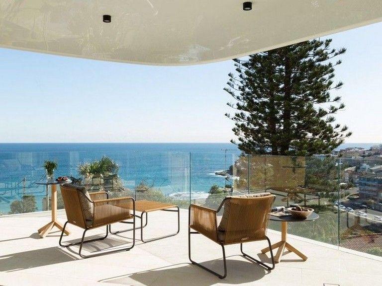 40 Lovely Coastal Terraces And Patios Design Ideas Patio Design Furnishings Design Patio