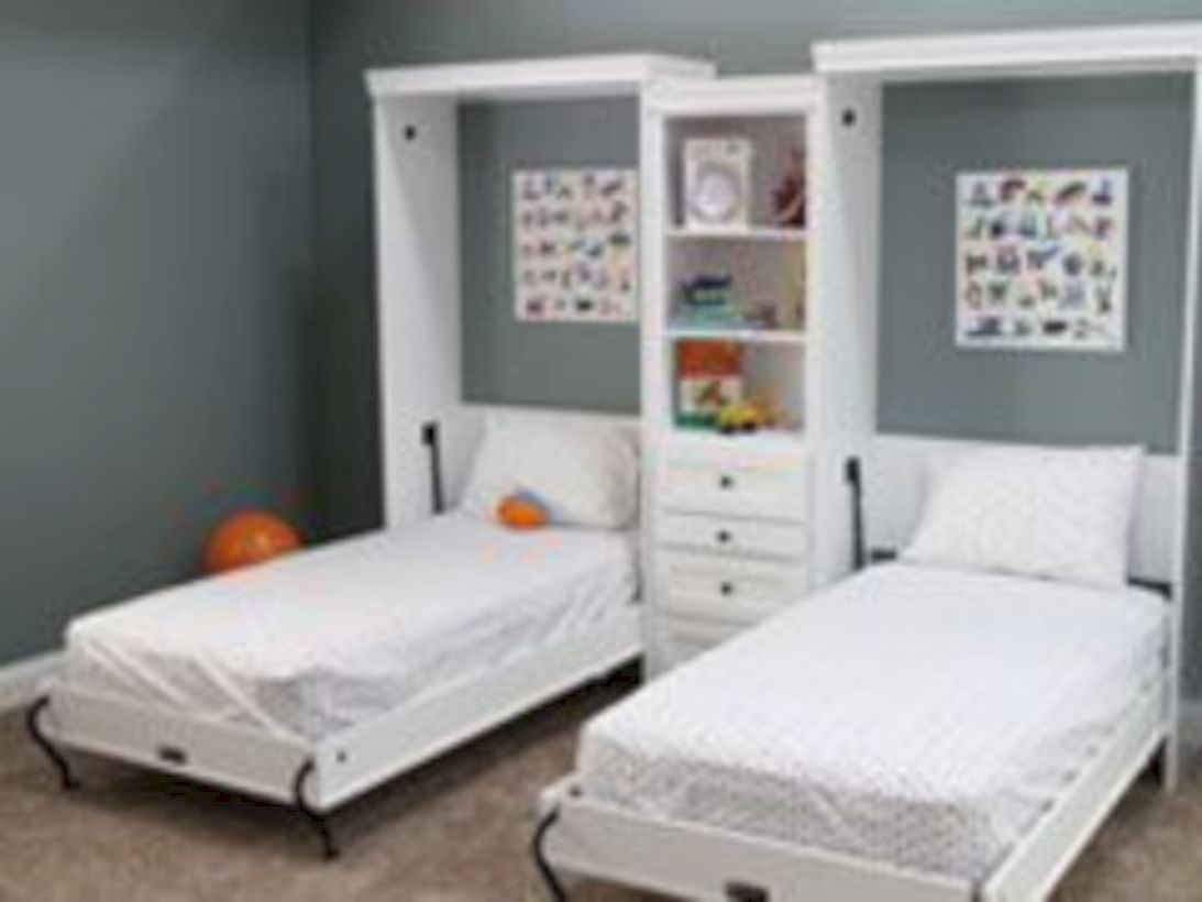 48 Best Diy Murphy Bed Ideas That Suitable For Small Space Kamar